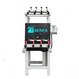 100% Original Factory fully automatic yarn extruder tape plastic PP PE cam winder machine/winding machine
