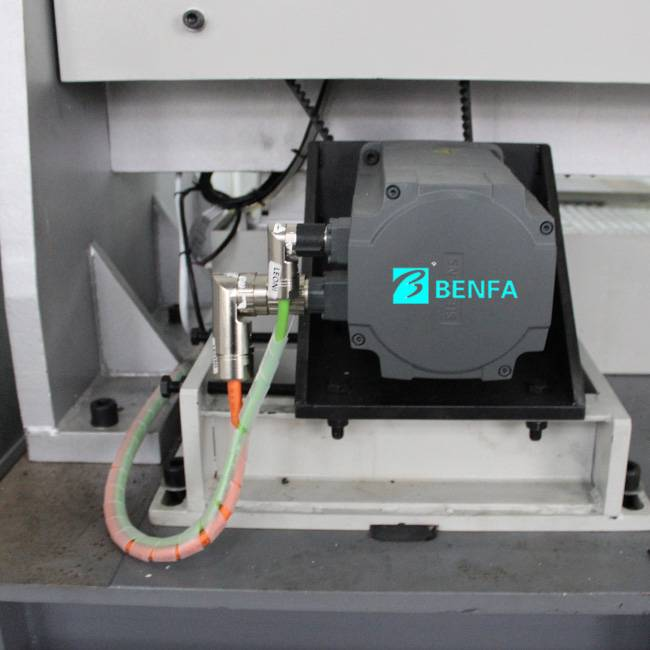 Wholesale Price China Multi Head Automatic Locking Screw Machine - Fixed Competitive Price 4 Deckers Spiraling Winding Machine /wire Braiding Machine – BENFA