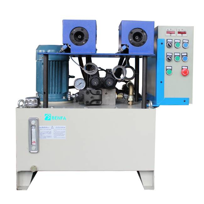 Special Design for Hose Locking Machine -