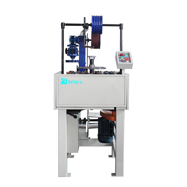 New Fashion Design for Crimping Machine Standard - Vertical Automatic Hose Braiding Machine BFB 24L-114B – BENFA