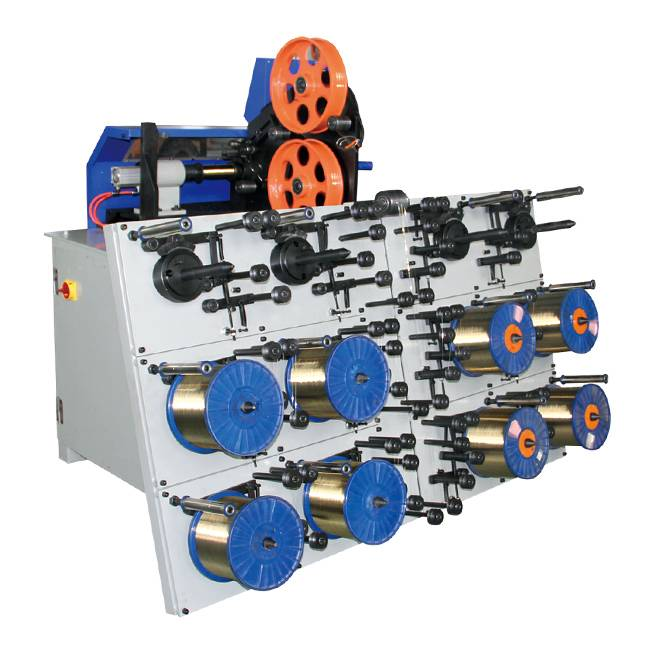 100% Original Factory Layer Coating Spool Dual Strander Machine -