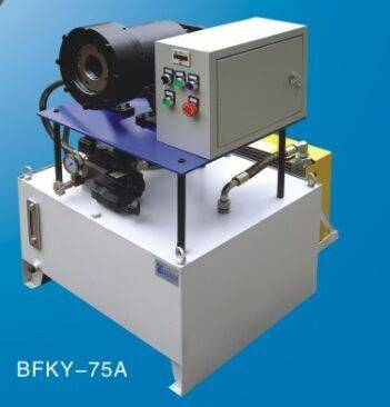 Big Size Braided Hose Crimper Machine BFKY-75A Featured Image