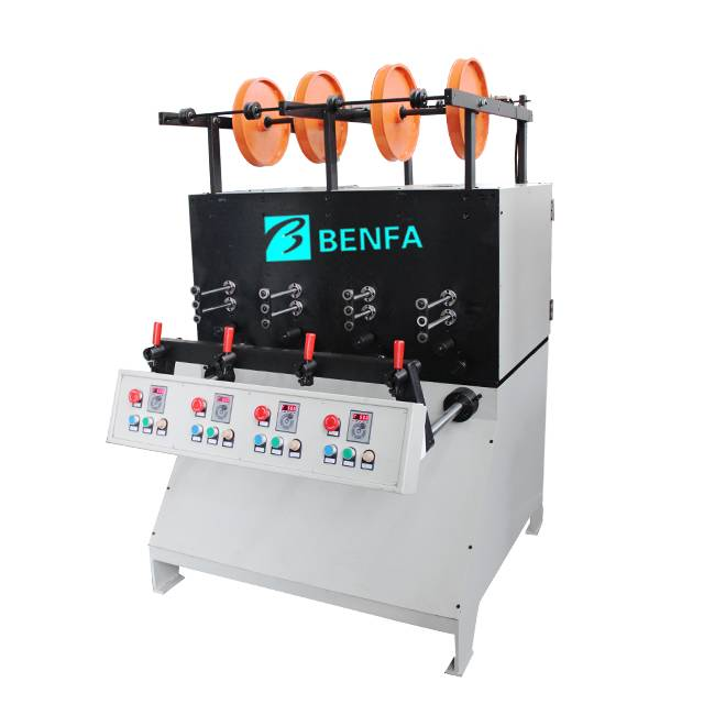 factory low price Small Manual Hydraulic Hose Crimping Machine For Sale – winding machine     BFBS-4B – BENFA