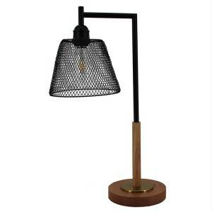 Rustic Metal Table Lamps,Deformable Mesh Lamp Shade | Goodly Light-GL-TLM047