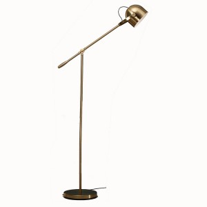 Led Floor Lamp,Task Floor Lamp,Antique Brass Standing Lamp |  Goodly Light-GL-FLM06