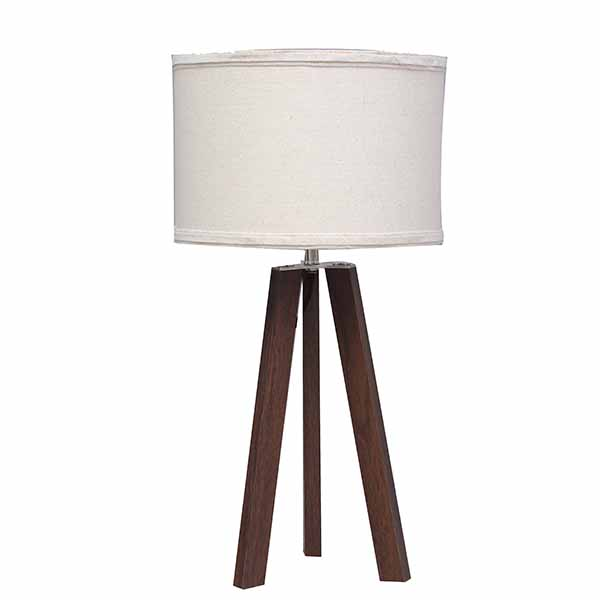 Tripod Table Lamp Wood,Dark Wood Table Lamp | Goodly Light-GL-TLW008 Featured Image