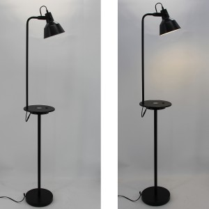 Metal Shade Floor Lamp,Wireless Charging Lamp | Goodly Light-GL-FLM111