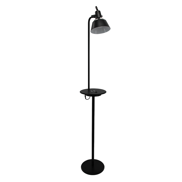 Metal Shade Floor Lamp,Wireless Charging Lamp | Goodly Light-GL-FLM111 Featured Image