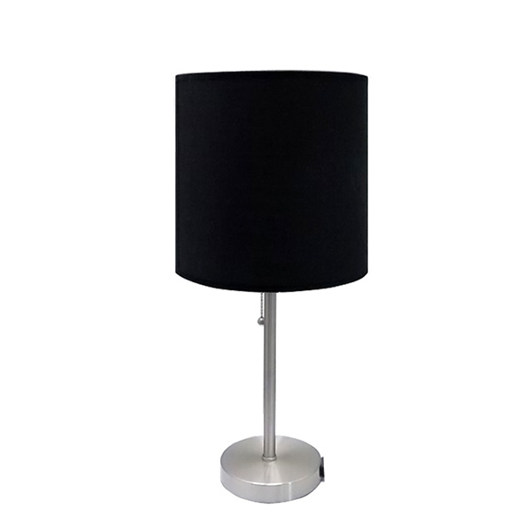 Black Metal Table Lamp,Table Lamp with Power Outlet | Goodly Light-GL-TLM003 Featured Image