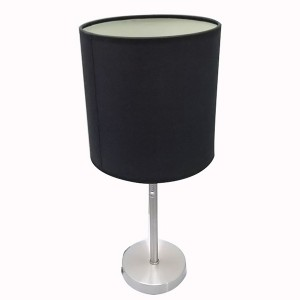 Black Metal Table Lamp,Table Lamp with Power Outlet | Goodly Light-GL-TLM003