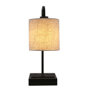 Galvanized Metal Table Lamp,Contemporary Arc Design Desk Lamp | Goodly Light-GL-TLM029