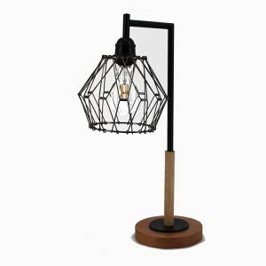 Metal Cage Table Lamp,Deformable Lamp Shade  | Goodly Light-TLM046
