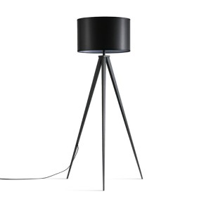 Black Tripod Floor Lamp,Metal Tripod Floor Lamp,Mid Century Modern | Goodly Light-GL-FLM018