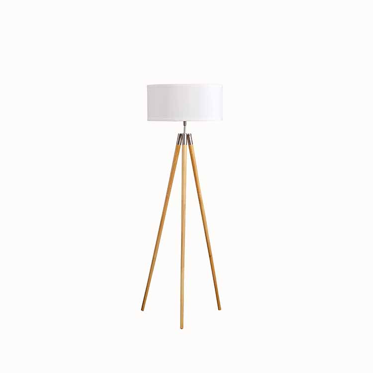 Mid Century Tripod Floor Lamp,Tripod Wooden Floor Lamp | Goodly Light-GL-FLW014 Featured Image