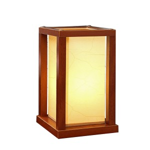 Small Wood Table Lamp,Table Lamp Base Wood | Goodly Light-GL-TLW087