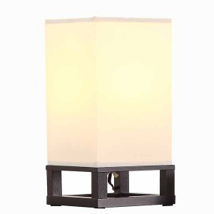 Table Lamp Wood,Minimalist Wood Base Table Lamp | Goodly Light-GL-TLW002-1