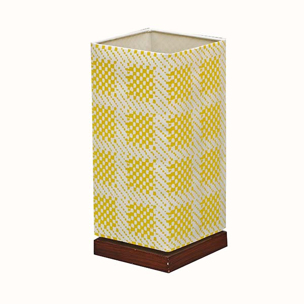 Wood Table Lamp,Table Lamp With Square Screen Fabric Lamp Shade | Goodly Light-GL-TLW001-1 Featured Image