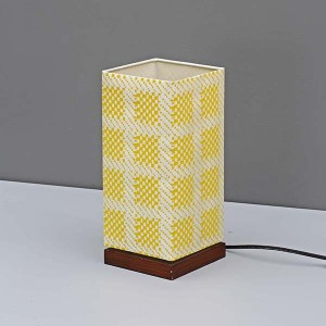 Wood Table Lamp,Table Lamp With Square Screen Fabric Lamp Shade | Goodly Light-GL-TLW001-1