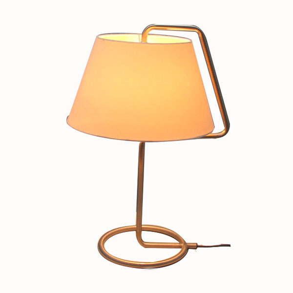 Contemporary Table Lamp,Nickel Table Lamp | Goodly Light-GL-TLM007 Featured Image