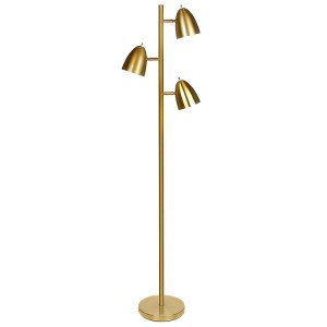 Modern Metal 3-Light Tree Floor Lamp, Tree Floor Lamp | Goodly Light-GL-FLM026