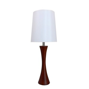 Wood Candlestick Table Lamp,Table Lamp with Wood Base | Goodly Light-GL-TLW029