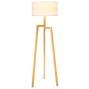 Tripod Floor Lamp,Wood Tripod Floor Lamp | Goodly Light-GL-FLW016