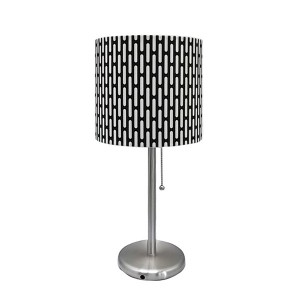Nickel Table Lamp,Lamp for Vanity Table | Goodly Light-GL-TLM004