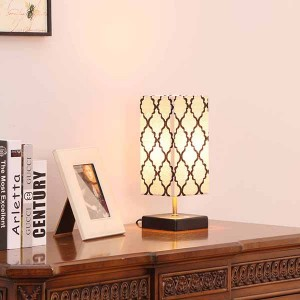 Modern Wood Table Lamp,Wood Table Lamp OEM Design | Goodly Light-GL-TLW004-USB