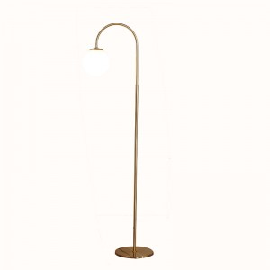 Arc Floor Lamp,White Floor Lamp,Globe Floor Lamp | Goodly Light-GL-FLM08