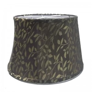 Black Gold Lamp Shade,24 Inch Drum Lamp Shade | Goodly Light-GL-SH017