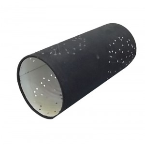 Long Cylinder Lamp Shade,Lamp with Black Shade | Goodly Light-GL-SH012