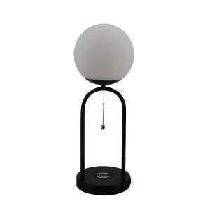 Glass and Metal Table Lamp,Glass Ball and Metal Table Lamp | Goodly Light-GL-TLM033