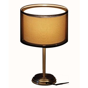 Nickel Table Lamp,Double Table Lamp | Goodly Light-GL-TLM018