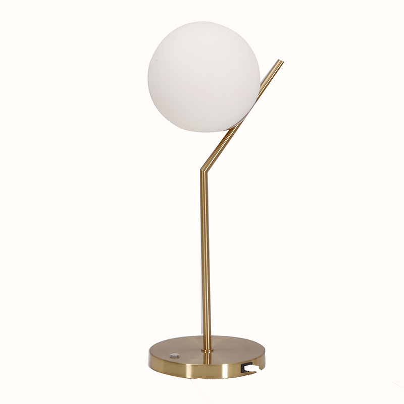 Table Lamp USB Port,End Table Lamp with USB Port | Goodly Light-GL-TLM001-USB Featured Image