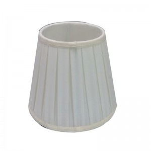 Linen Drum Lamp Shade,Small White Lamp Shade | Goodly Light-GL-SH007