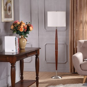 Wood and Metal Floor Lamp,Metal Floor Lamp Base| Goodly Light-GL-FLM139