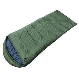 soft touch envelop sleeping bag  with hood
