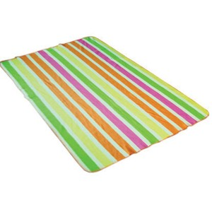 rainbown printing polar fleece blanket