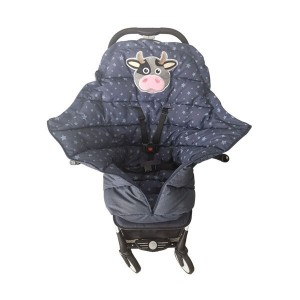 Baby Trolley Sleeping Bag With cow EMBROIDERY