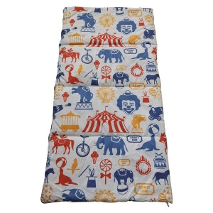 Circus printing sleeping bag
