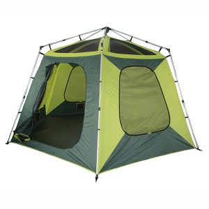 Easy up frame tent