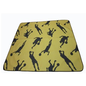 Druable basketball picnic mat