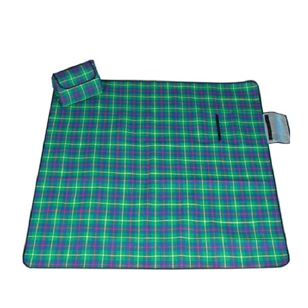 Ordinary Discount Multifunctional Sleeping Bag - plaid outdoor picnic mat waterproof – Green Camping