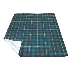 Special Design for Airline Blanket - Acrylic picnic blanket with check printing – Green Camping