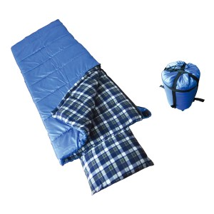 Sleeping bag with pillow