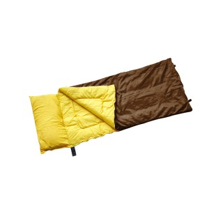 Sleeping bag with full size pillow