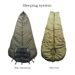 military modular sleeping bag