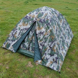 Military tent for both winter and summer