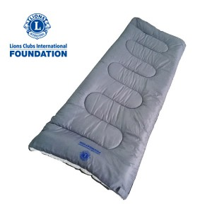 Refugee winter sleeping bag for lions club