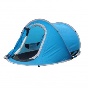 2 layers pop up tent